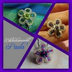 Blütenhaarnadel Paula